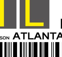 Destination Atlanta Airport Sticker