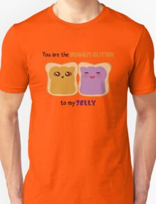 Peanut butter to Jelly Unisex T-Shirt