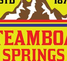 STEAMBOAT SPRINGS COLORADO Skiing Ski Mountain Mountains Snowboard Sticker