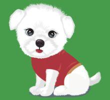 Bichon frise dog One Piece - Short Sleeve