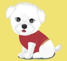 Bichon frise dog Kids Tee