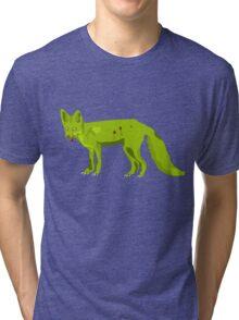Frederick - The Zomfox (Zombie Fox) Tri-blend T-Shirt