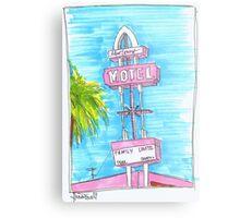 Motel Monterey Metal Print