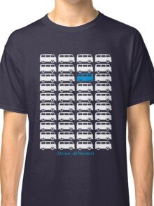 Drive different - Bus (white) Classic T-Shirt