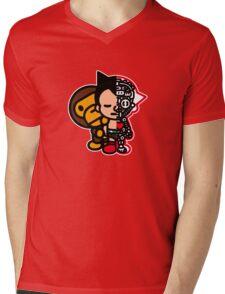 Astromilo Mens V-Neck T-Shirt