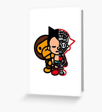 Astromilo Greeting Card