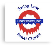 Swing Low Canvas Print
