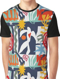 Inspired by Matisse Graphic T-Shirt