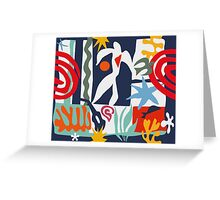 Inspired by Matisse Greeting Card