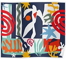 Inspired by Matisse Poster