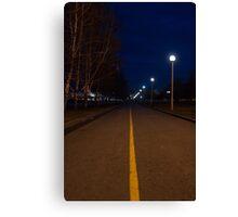 Nightly walk Canvas Print