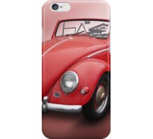 Vintage VW beetle iPhone Case/Skin