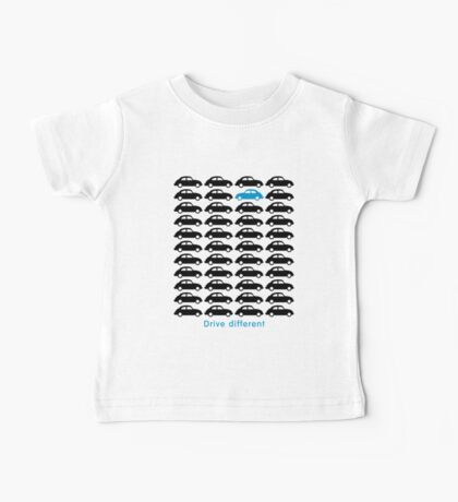 Drive different - Car (black) Baby Tee