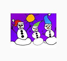 Winter's Snowmen Unisex T-Shirt