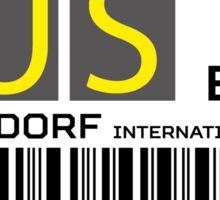 Destination Düsseldorf Airport Sticker