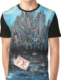 Watching over Gotham Graphic T-Shirt