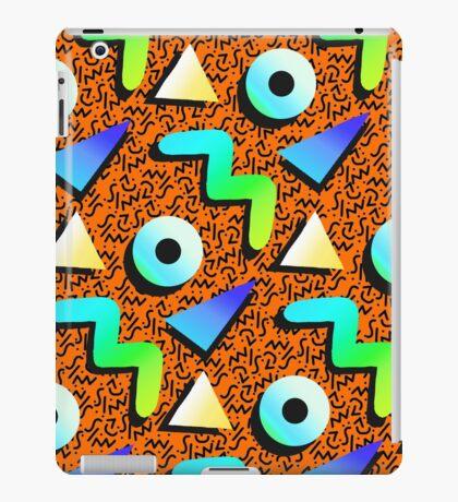 1980s Orange Print iPad Case/Skin