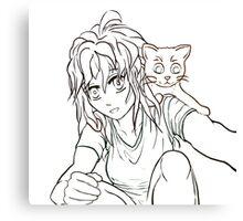 Anime Cosplay Canvas Print