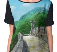 The Great Wall Chiffon Top