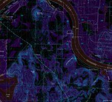 USGS TOPO Map Alabama AL Triana 305237 1964 24000 Inverted Sticker