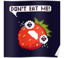 Crying Strawberry: Don't Eat Me! Poster