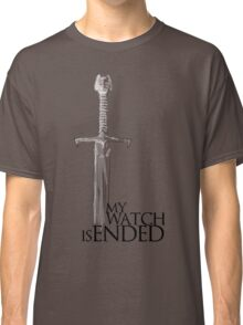 Game of Thrones - The end - white Classic T-Shirt