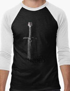 Game of Thrones - The end - white Men's Baseball ¾ T-Shirt