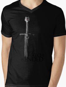 Game of Thrones - The end - white Mens V-Neck T-Shirt