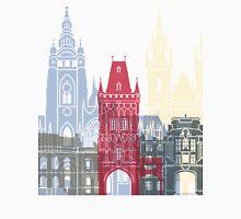 Prague skyline poster Unisex T-Shirt