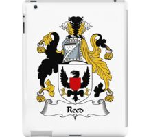 Reed Coat of Arms / Reed Family Crest iPad Case/Skin