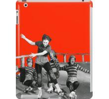 ROLLER DERBY VINTAGE GIRLS gerry murray iPad Case/Skin