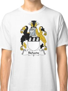 Richards Coat of Arms / Richards Family Crest Classic T-Shirt