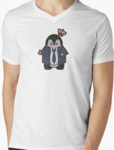 Moriarty Penguin Mens V-Neck T-Shirt