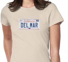 Del Mar - California. Womens Fitted T-Shirt