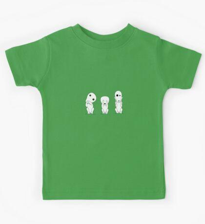 Three wise kodamas Kids Tee