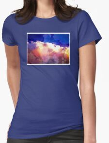 I'll paint the sky for you. Womens Fitted T-Shirt