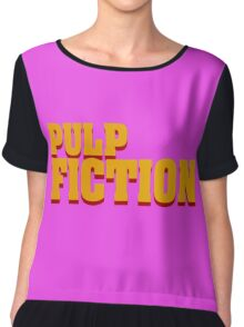 Pulp Fiction Chiffon Top