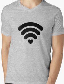 Free love zone Mens V-Neck T-Shirt