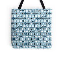 Geek spirit blue Tote Bag