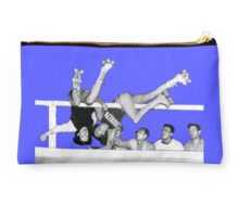 CRAZY ROLLER DERBY FALL gerry murray chicago Studio Pouch