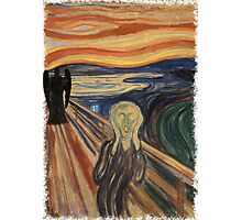 Doctor Who - Munch v2 Photographic Print