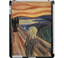 Doctor Who - Munch v2 iPad Case/Skin