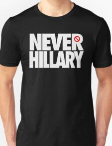 NEVER HILLARY - Alternate T-Shirt