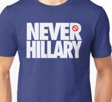 NEVER HILLARY - Alternate Unisex T-Shirt