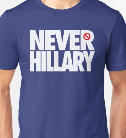 NEVER HILLARY - Alternate Unisex T-Shirt