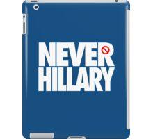 NEVER HILLARY - Alternate iPad Case/Skin
