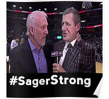 Stay Strong Sager Poster