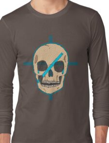 Skull war paint - Bulgruum Long Sleeve T-Shirt