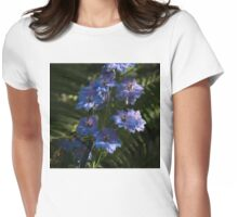 Larkspurs and Ferns - a Lush Summer Garden Womens Fitted T-Shirt