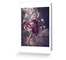 Blood Dress Greeting Card